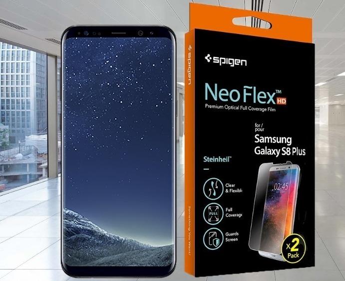 detailed look ba627 f4946 Film Spigen Neo Flex Samsung S8 Plus Protector Pantalla X2