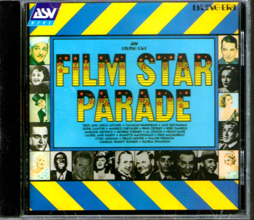 film star parade - crosby - dietrich - chevalier  - cd