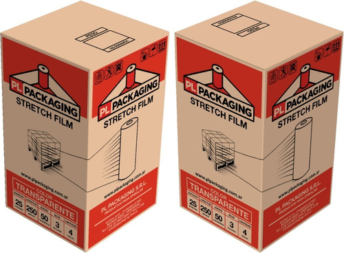 film stretch virgen cristal 50cm  p/ embalar 4,5 kg oferta!