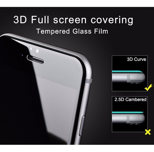 film vidrio templado 5d para iphone 6 7 8 plus xs xr xs max