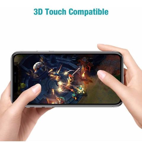 film vidrio templado 5d para iphone 6 7 8 plus xs xs max xr