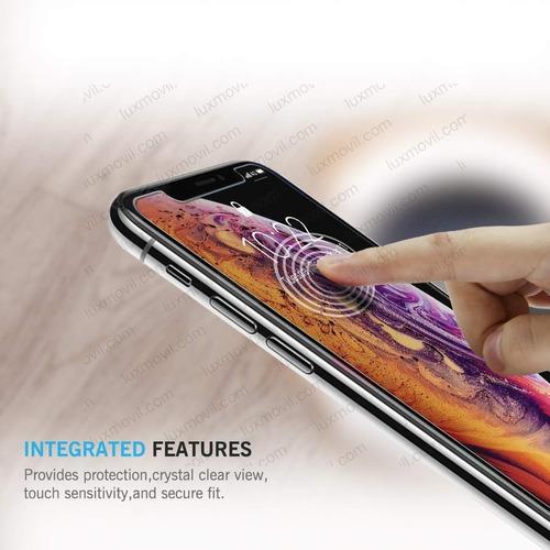 film vidrio templado premium iphone xs max 6.5 2018 + envio
