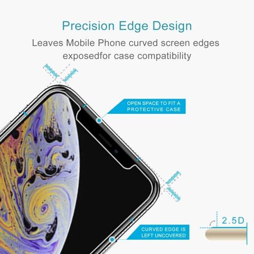 film vidrio templado premium iphone xs max 6.5  xr 6.1 2018