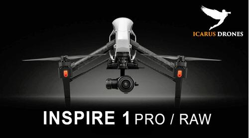 filmación aérea con drone inspire 1 raw 4k - x5r | alquiler