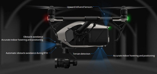 filmación aérea con drone inspire 2 raw 4k - x5s   alquiler