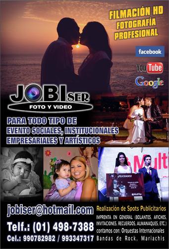 filmacion hd y fotografia - camaras profesionales - jobiser
