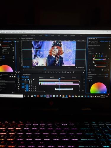filmación y edición de vídeos profesionales