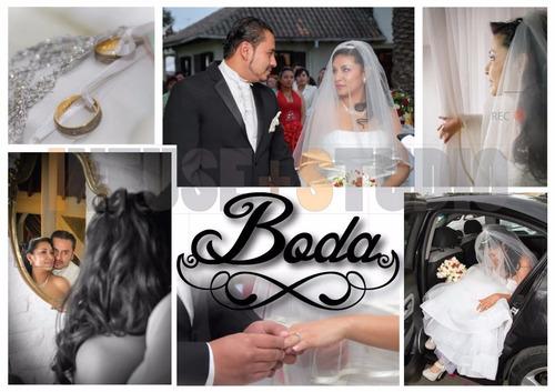 filmación y fotografía de bodas - eventos sociales