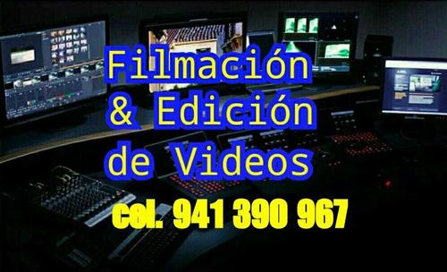 filmacion y fotografia de eventos - foto y video