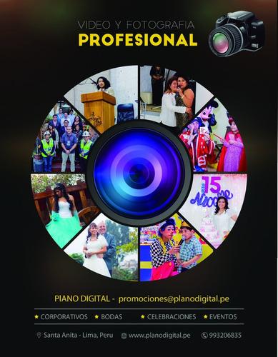 filmación y fotografía profesional para eventos