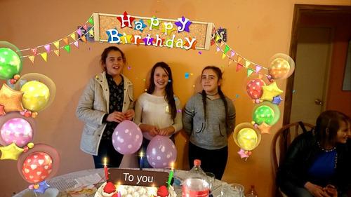 filmaciones con efectos 3d para cumpleaños,con salida ala tv