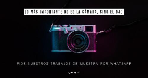 filmaciones / fotografía / edición foto y video profesional