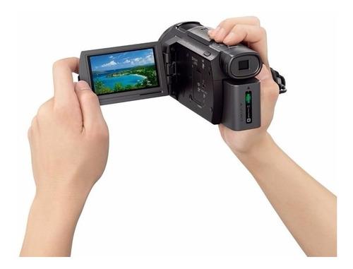 filmadora+64gb c/10+bols+trip sony hdr-cx405 full hd s/j nf