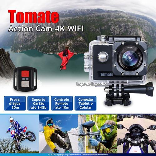 filmadora action cam 4k full hd 1080p c/ garantia + nf