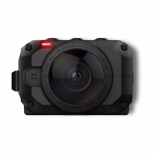 filmadora action cam 4k garmin virb 360° com wifi, bluetooth