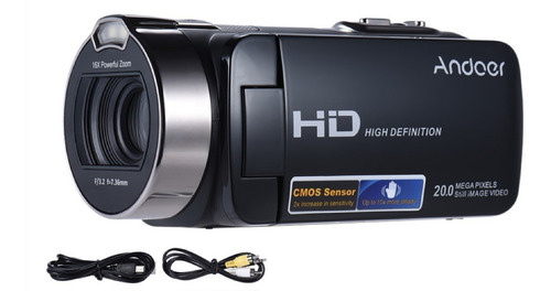 filmadora andoer hdv-312p  full hd 1920 x 1080p 16x zoom