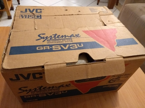 filmadora antiga jvc modelo gr-sv3u
