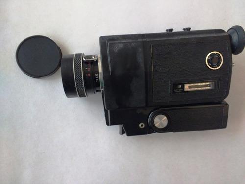 filmadora antiga super 8 - shinkor - modelo t l 500 - japan