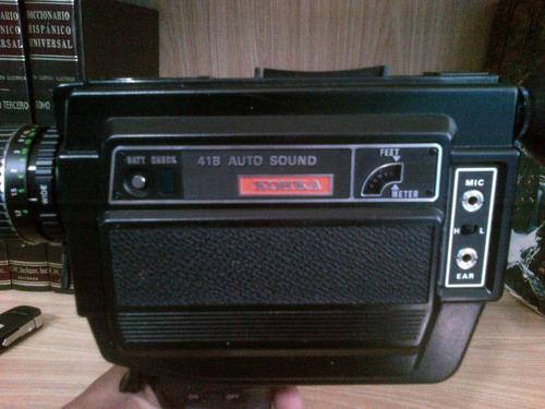 filmadora antigua 8mm marca kohka joponesa