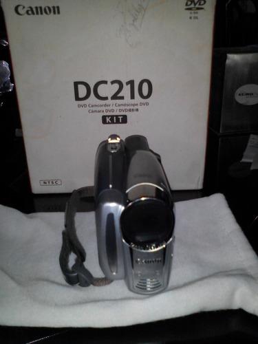 filmadora canon dc-210