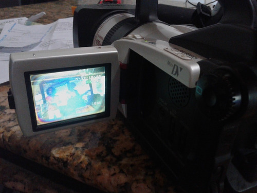 filmadora canon  dm-gl1a, ntsc usada r$. 760,00
