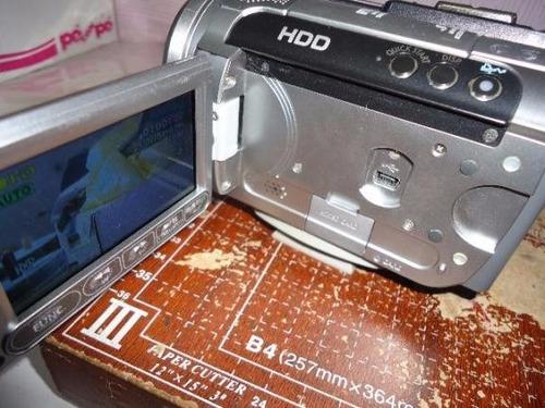 filmadora canon hg 10 display sem imagem