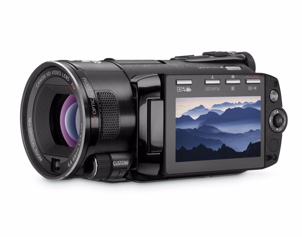 filmadora canon s10 full hd 32gb semi profesional