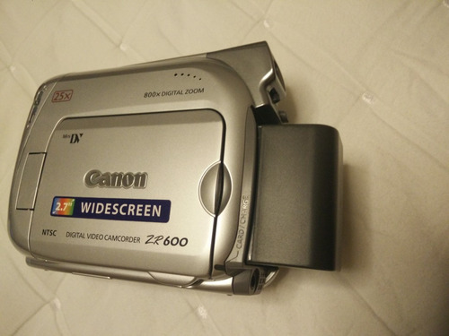filmadora canon zr 600 ótimo estado