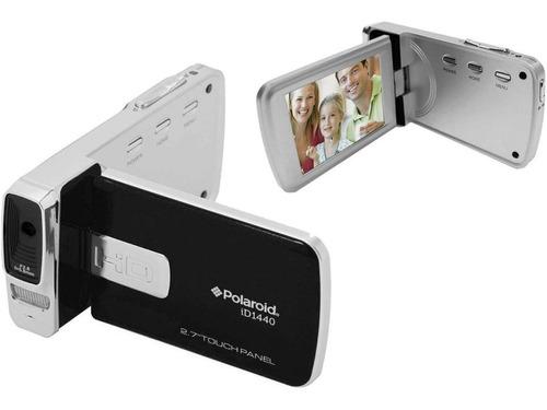 filmadora digital polaroid id1440 compacta 14mp fhd zoom 4x