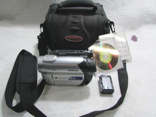 filmadora digital sony dcr dvd108+bolsa+2dvd+carregador