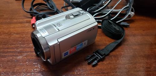 filmadora digital sony dcr-sr68 zoom óptico 60x hd 80gb