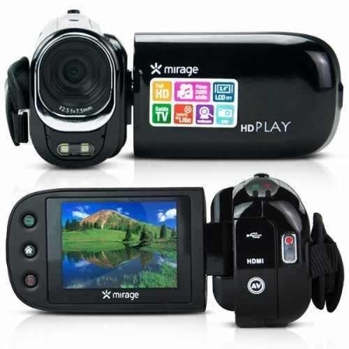 filmadora full hd mirage multilaser câmera nova loja