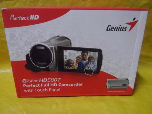 filmadora genius full hd g-shot hd-580t - impecavel - ok.