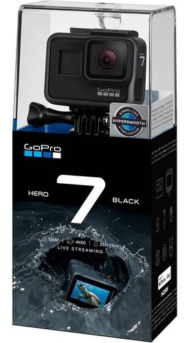 filmadora gopro hero 7 black + sandisk extreme 32gb micro sd