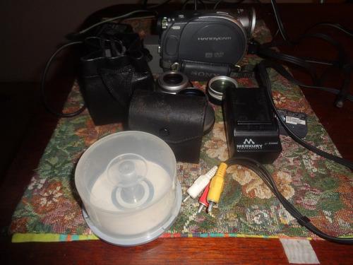 filmadora handicam drc dvd105