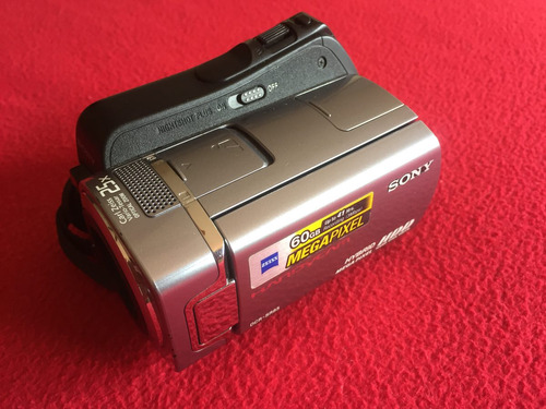 filmadora handycam sony 60gb