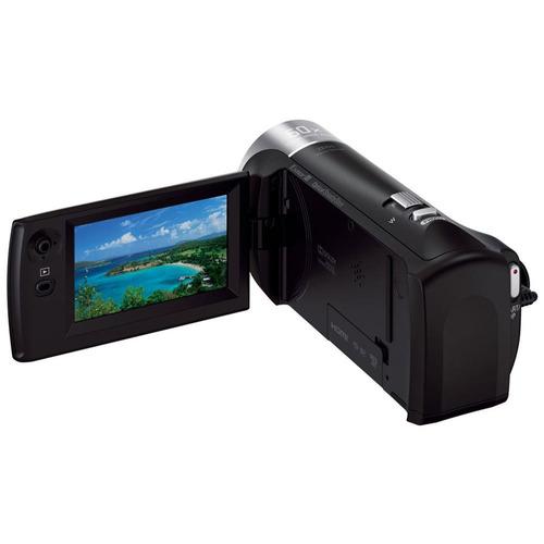 filmadora handycam sony hdr-cx405, bolsa, sdhc c10, mini tri