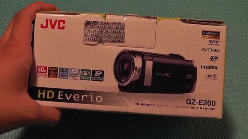 filmadora jvc everio gz - e200 - bu