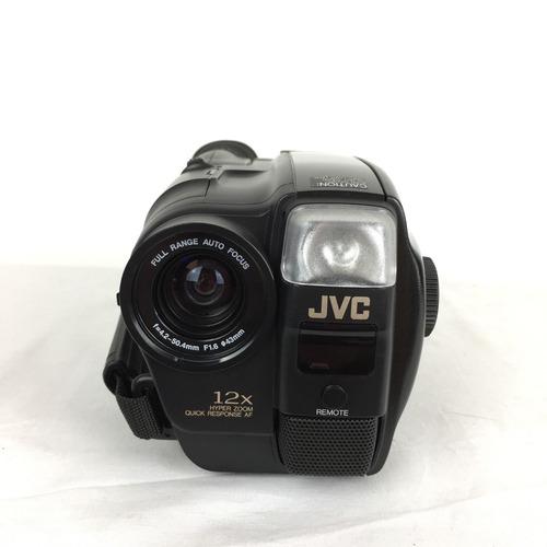 filmadora jvc gr ax-700 u nova com acessórios na maleta