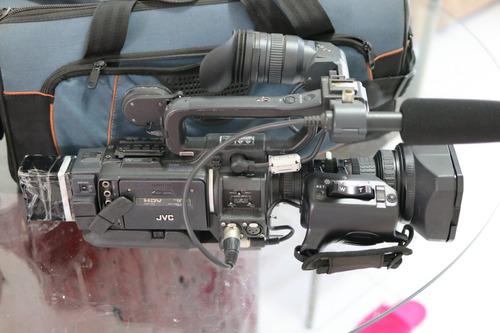 filmadora jvc gy-hd110u 3-ccd prohd   fujinon lens