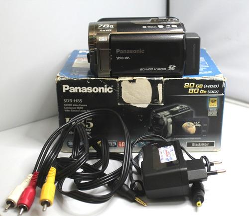 filmadora panasonic sdr-h85 semi-nova 12x sem juros