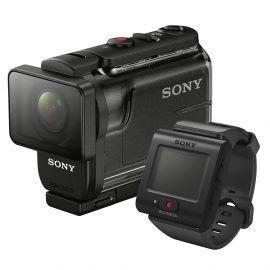 filmadora sony action cam hdr-as50r com controle preto
