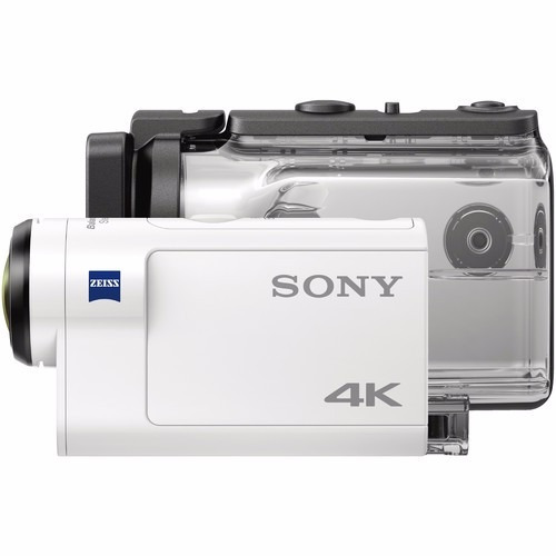 filmadora sony action can fdr-x3000r 4k + controle remoto