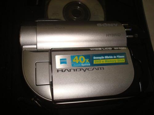 filmadora sony dcr-dvd610
