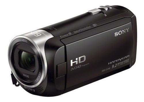 filmadora sony handycam hdr-cx440 fullhd memória interna 8gb