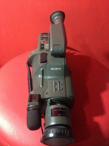 filmadora sony handycam video 8 ntsc. ccd-f350 6x.