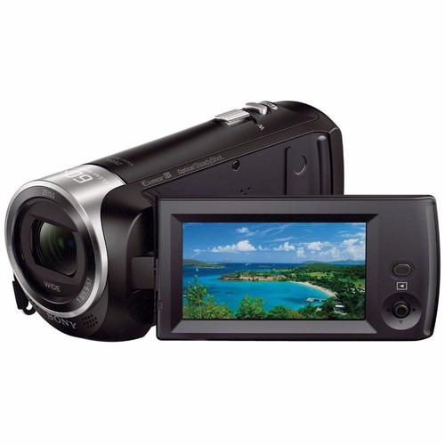 filmadora sony hdr-cx405 fullhd + cartão 64gb
