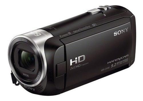 filmadora sony hdr-cx440 hd handycam zoom 60x com 8gb