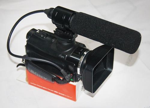 filmadora sony hxr - mc50 full hd pro avchd 64gb muito nova