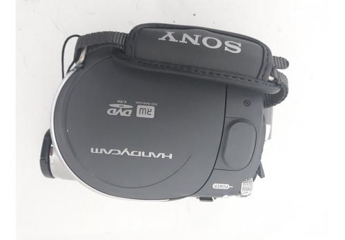filmadora sony mini dv - modelo dvd 105 - com defeito